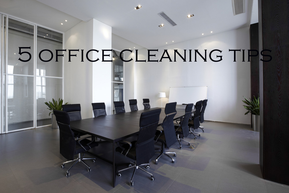 5-office-cleaning-tips