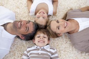 family-on-carpet