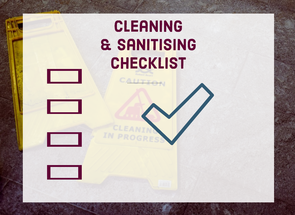 checklist-cleaning-sanitising